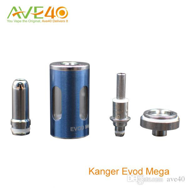 Kanger Evod Mega kit E Cigarettes Evod Mega Starter Kit 1900mah Battery and 2.5ml Atomizer Tanks New Delta2