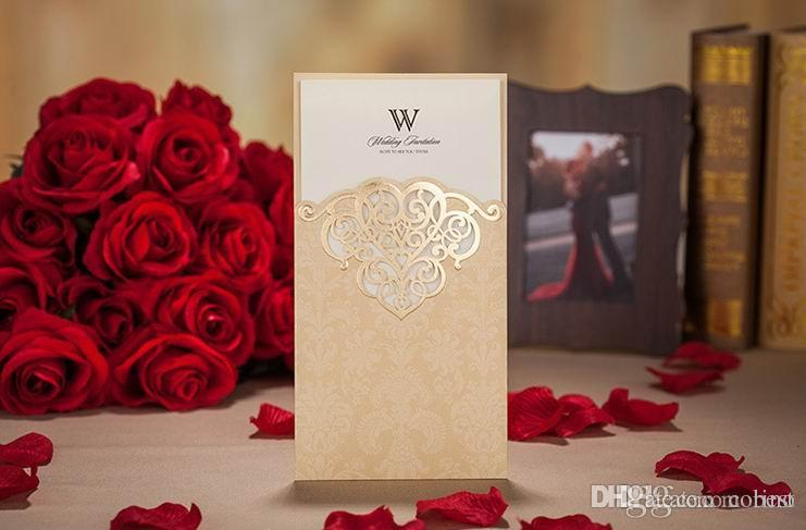 Hollow Wedding Invitations Cards Free Customized Wedding – Free Customized Wedding Invitations
