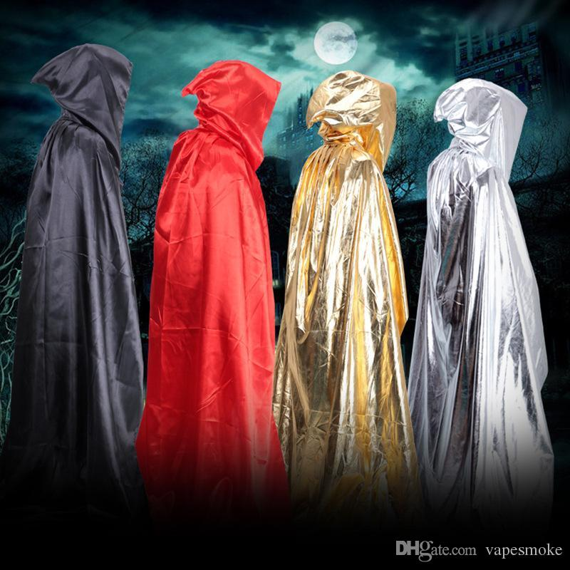 anime cosplay clothes halloween costume theater prop death hoody cloak devil long tippet adult cape wizards cloak group party costumes popular halloween - Popular Halloween Themes