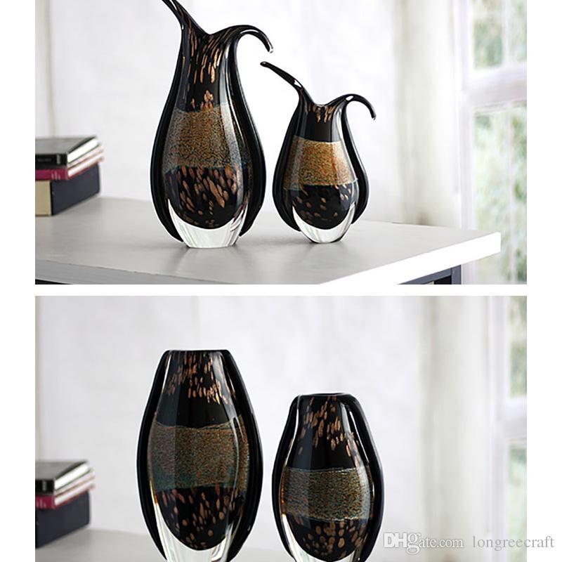 2018 Types Of Flower Vase Handmade Murano Vase Small Size Creative