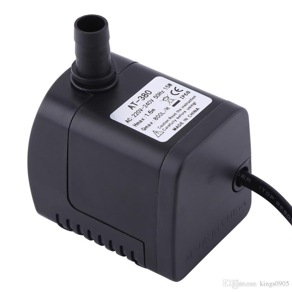 Eu Plug Ac 220 V 3 Watt Tauch Wasserpumpe Aquarium Brunnen Air Fischteich Tank Pumpen, Teile Und Zubehör
