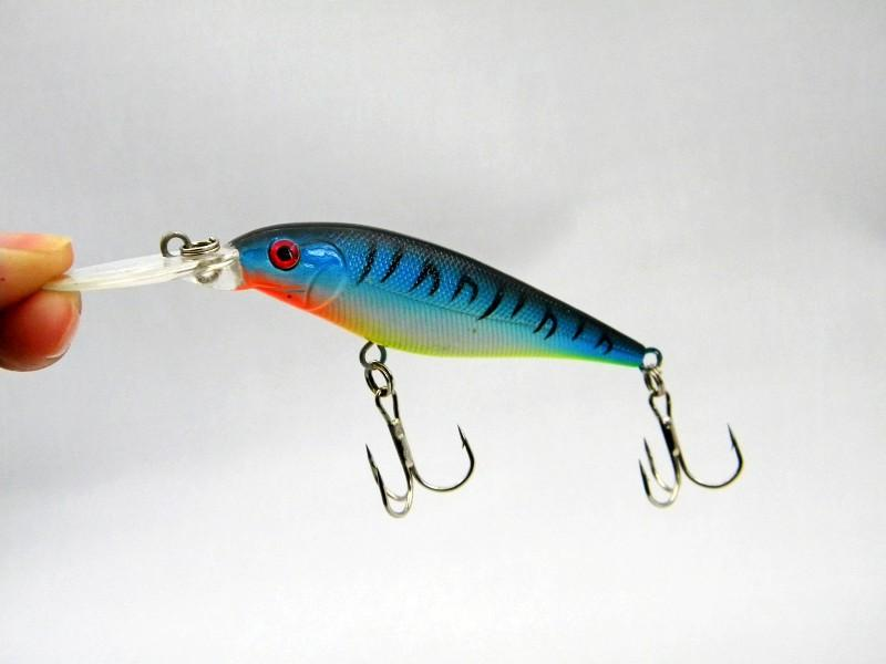 Fishing Lure Minnnow Isca Artificial Fish Hard Bait Fishing Tackle 11cm 10g ABS Plastic Laser Fishing Lure