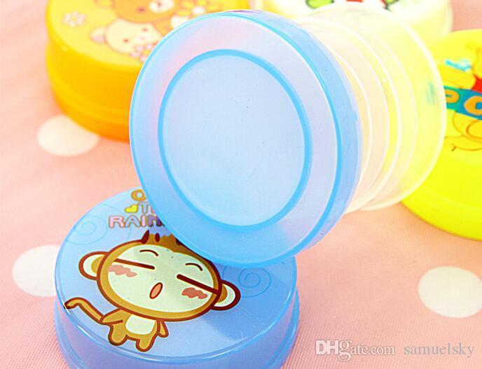 YENI moda yaratıcı çocuk karikatür güzel mini fincan streç Katlanır su cam kamp piknik taşınabilir fincan çocuk günü hediye 100 ML su
