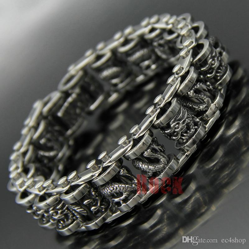 Bracelet or massif pour homme