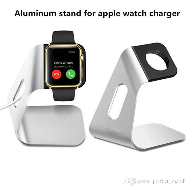 For Apple Watch Stand Aluminum Iwatch Charging Holder Desk Support Holders Series 1 2 3 38mm 42mm