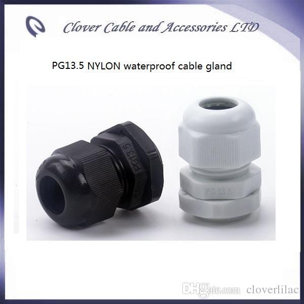 Venta caliente y envío gratis / IP68 Cable impermeable Conector PG13.5 Glándula de cable de nylon
