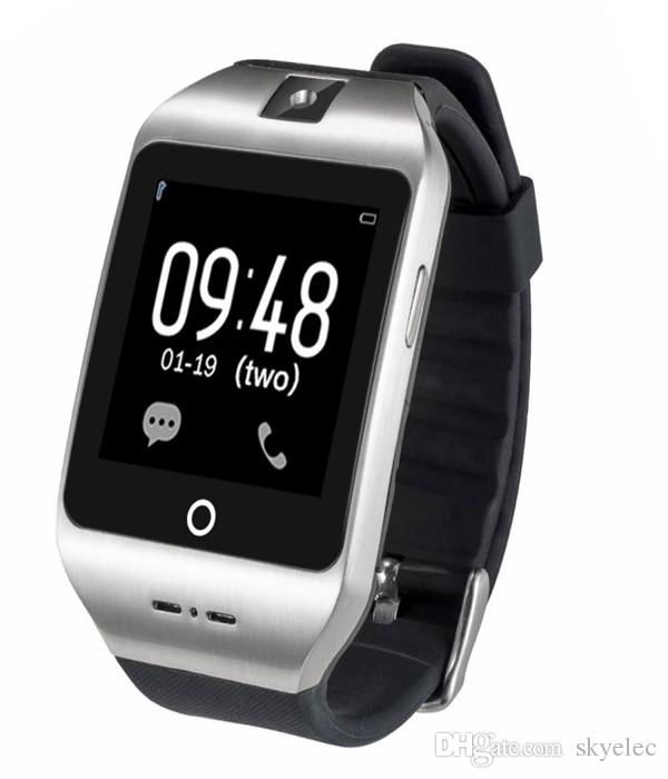 Montre Smart Watch I8s Bluetooth V4.0 Caméra Support Simulateur D'appel En Gros Insertion Sim Type De Dragonne Santé Surveillance Suivi Alarme Intelligent