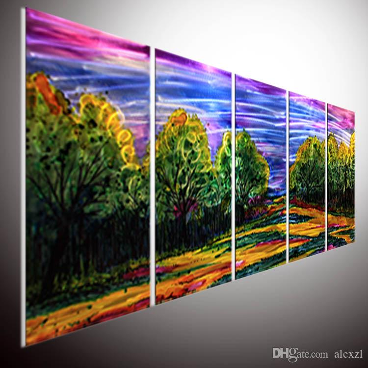 2018 Modern Contemporary Abstract Painting Abstract Wall Art Modern ...