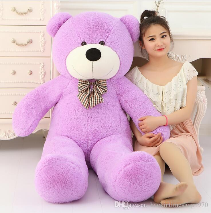큰 판매 큰 테디 베어 거대한 큰 박제 장난감 동물 봉제 아이 어린이 아기 인형 애인 장난감 발렌타인 선물 여자