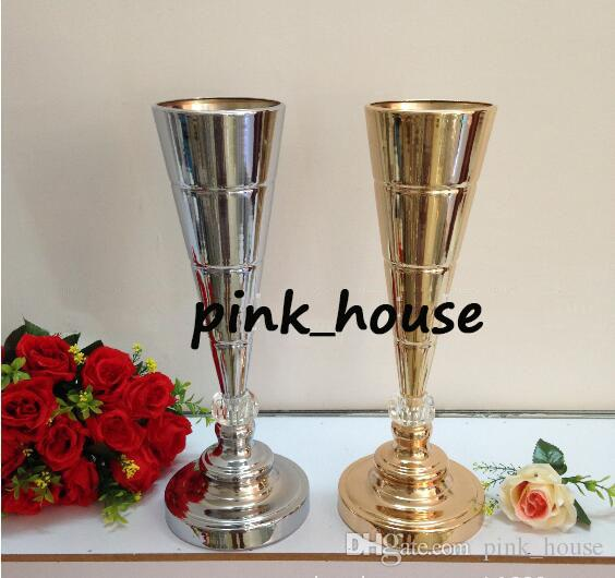 Wedding Flower Vases Wholesale: 2019 Hot!! Wholesale Elegant Fashion Crystal Flower Vase