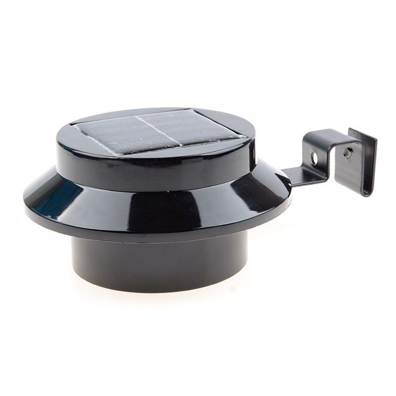 3 Leds Light Sensor Control Solar Powered Fence Gutter Solar Lights Outdoor Security Solar Lamps