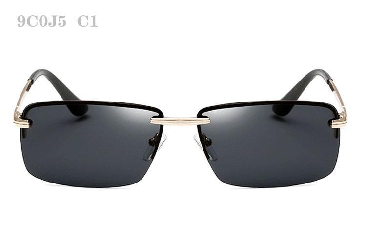 Sonnenbrille für Männer polarisierte Sonnenbrille Mann polar Sunglass hochwertige Herren Vintage Sunglases Mode Luxus Designer Sonnenbrille 9C0J5
