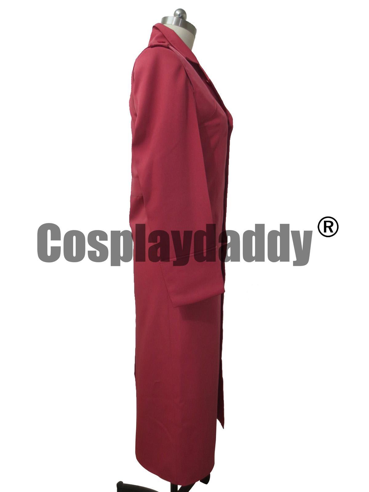 Costume cosplay lungo cappotto Foxhound lungo