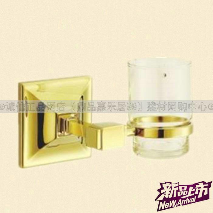 O novo mundo mesmo Tailândia bom bloqueio de cobre / escova de cobre gargle copo titular / titular pingente de banheiro LU 718-07 PVD