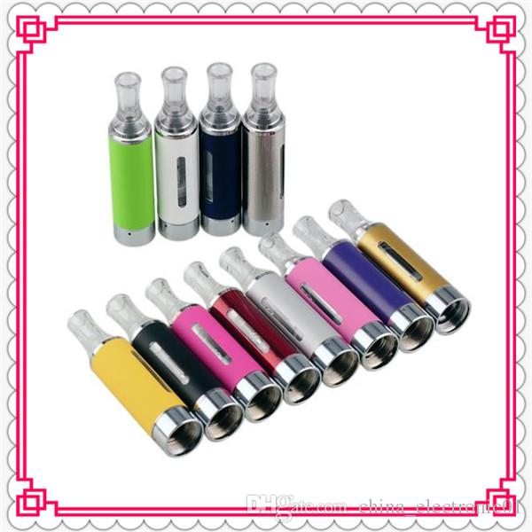 MT3 Clearomizer 2.4ml eVod BCC MT3 Atomizer Electronic Cigarette rebuildable Atomizers bottom coil tank Cartomizer for EGO EVOD battery