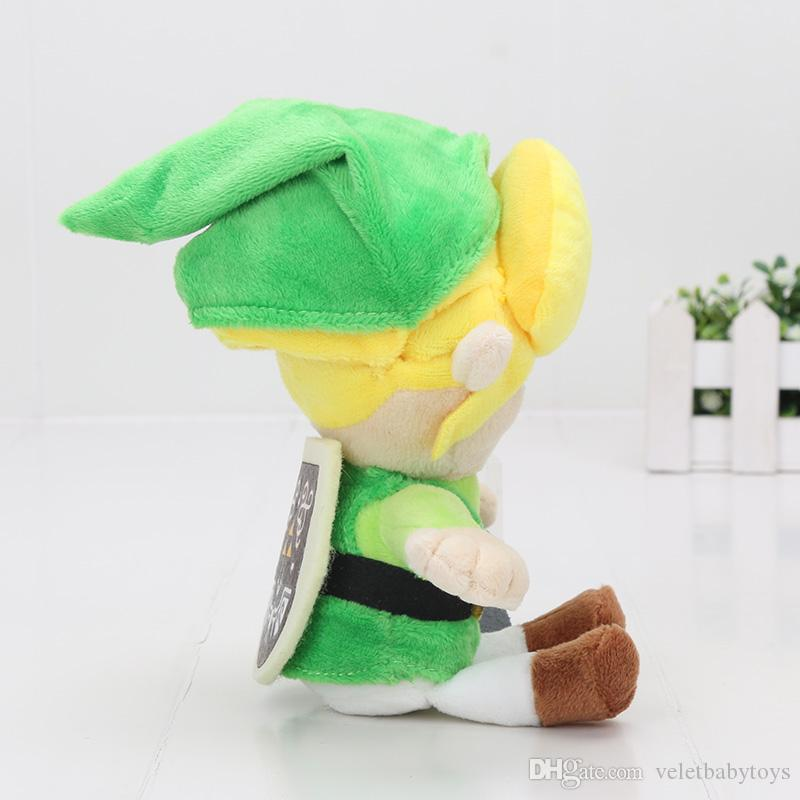 "8""20cm The Legend of Zelda Plush Toys Stuffed Doll Brithday Super Soft Gift For Boy Doll Kids Toys"