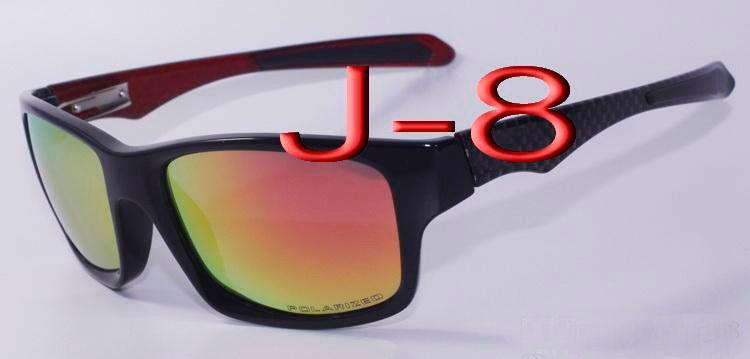 2016 Classics Jupiter Carbon Sports Sunglasses Polarized Oculos Women Men black plastic frame red fire Iridium mirror flash 4066