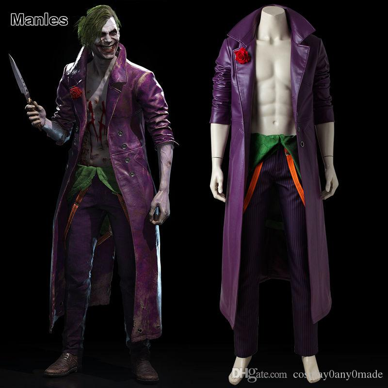 INJUSTICE 2 Joker Costume Cosplay Halloween Online with $186.29/Piece on Cosplay0any0madeu0027s Store   DHgate.com & INJUSTICE 2 Joker Costume Cosplay Halloween Online with $186.29 ...