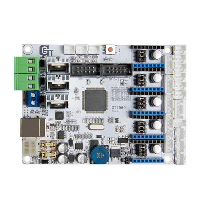 Freeshipping المعمرة طابعة 3D اللوحة GT2560 + DRV8825 سائق + LCD2004 كيت 3D أجزاء الطابعة الملحقات