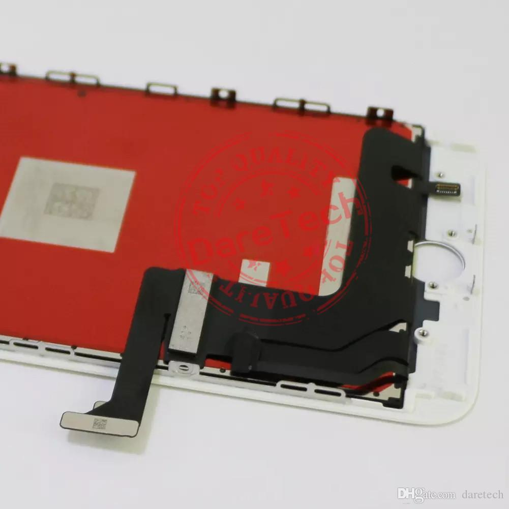 Siyah ve beyaz için yüksek kalite iPhone 8 8 artı LCD Ekran Dokunmatik Ekran Digitizer tam Meclis DHL kargo