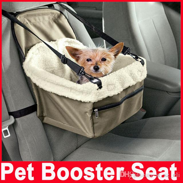 2018 Pet Dog Puppy Cat Car Seat Booster Carrier Auto Vehicle Leash Foldable Bag Cover From St Sz Eli