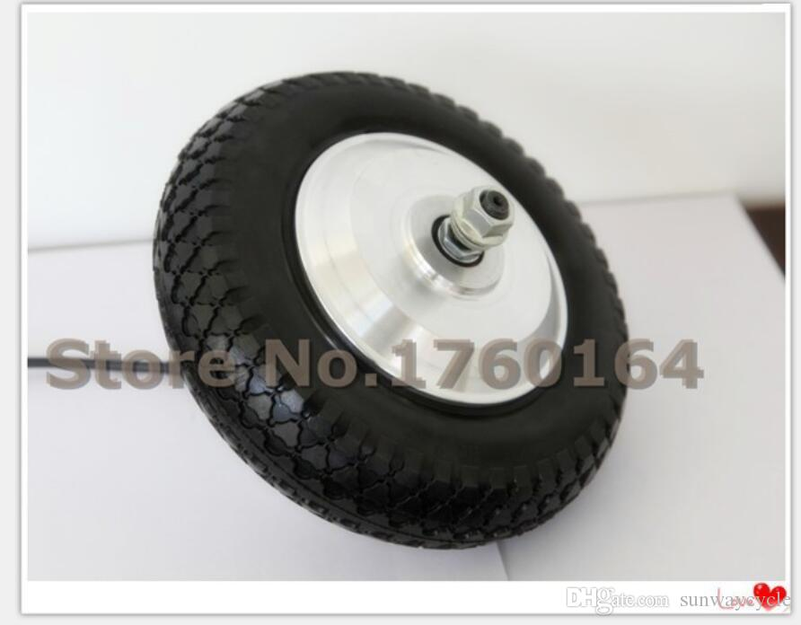 8 inch48v 350w mini scooter wheel gear motor wheelchair motor with rubber solid tire tire - Pneumatic Tires