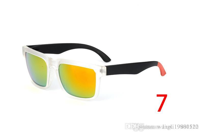 العلامة التجارية مصمم تجسس كين كتلة هيلم النظارات الشمسية موضة النظارات الشمسية الرياضة Oculos دي سول نظارات شمسية Eyeswearr 21 الألوان النظارات أداة حقيبة