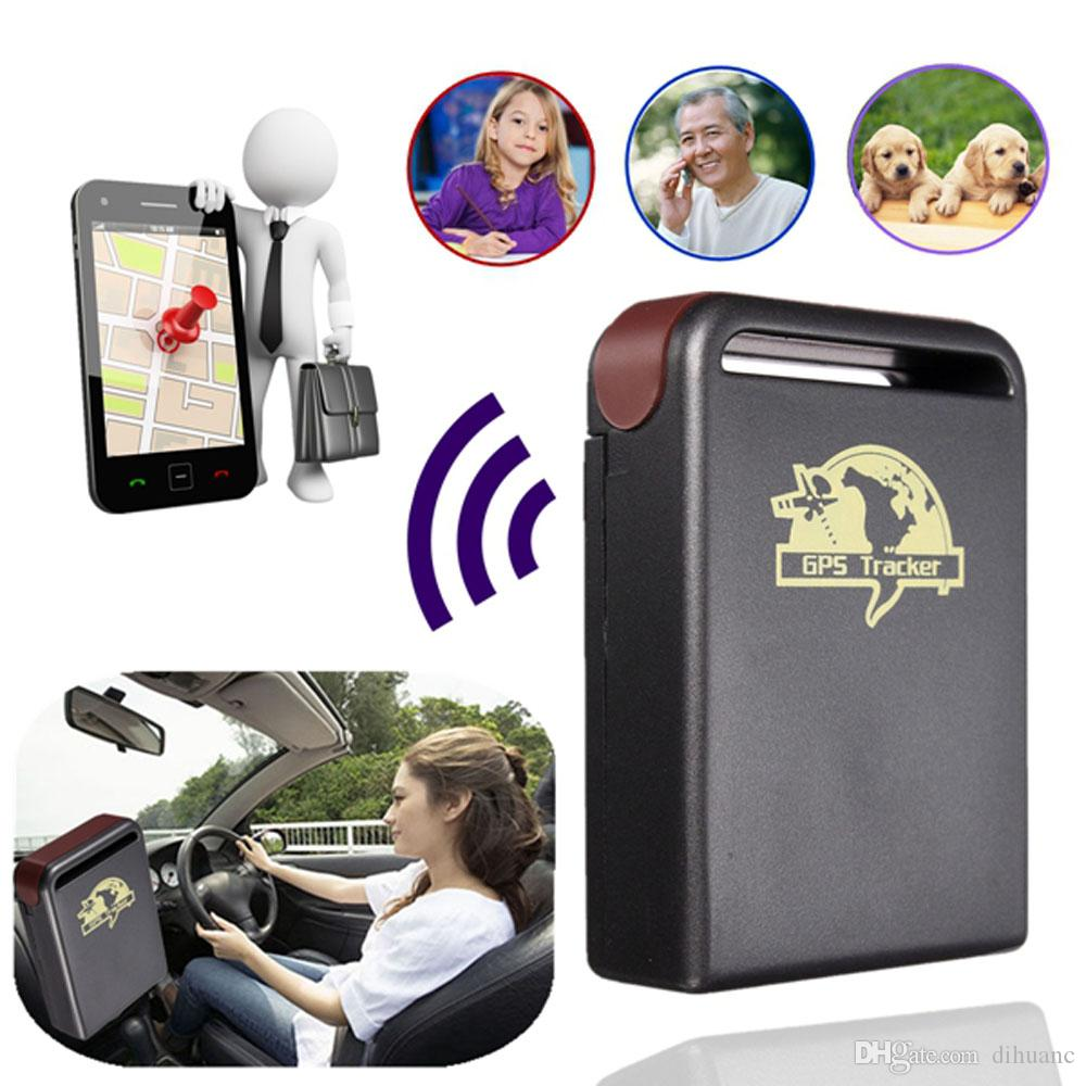 New Realtime Spy Mini Waterproof Car GPS System Tracker TK102-2