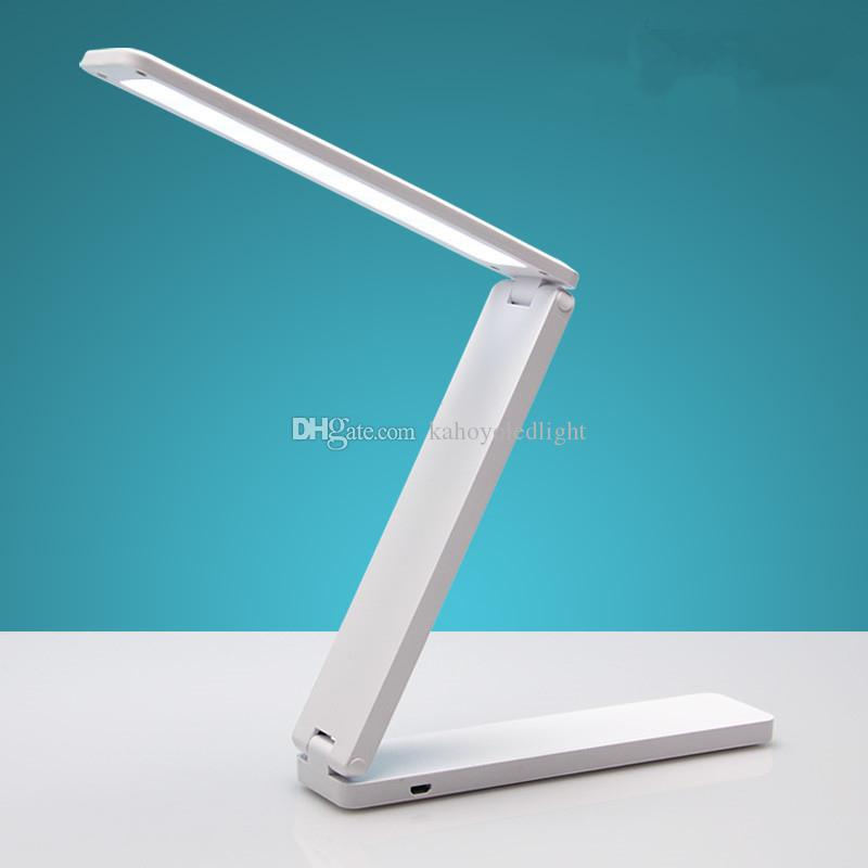 2018 Folding Table Lamp Led Rechargeable Usb Portable Children College Students Dormitory Bedroom Small Desk From Kahoyoledlight