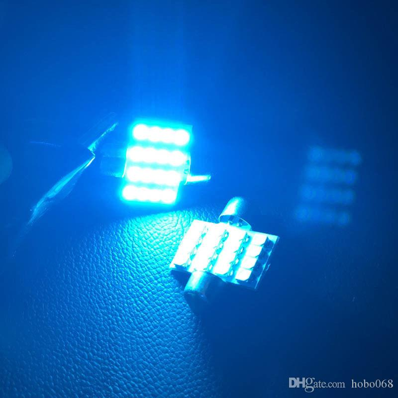 100x super Ice Blue 31mm 16 SMD DE3175 LED Auto Beleuchtung Lampen für Innen Dome Karte Lampen