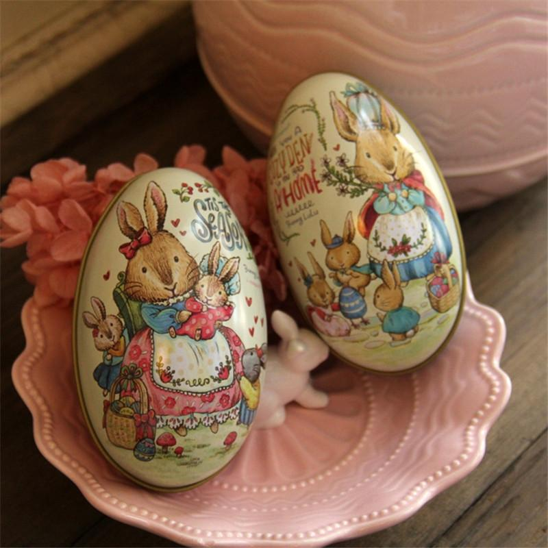Wholesale new easter day eggs creative gift wedding tin box pink and wholesale new easter day eggs creative gift wedding tin box pink and blue peter rabbit fashion wedding supplies candy packaging box wrapping paper holiday negle Image collections