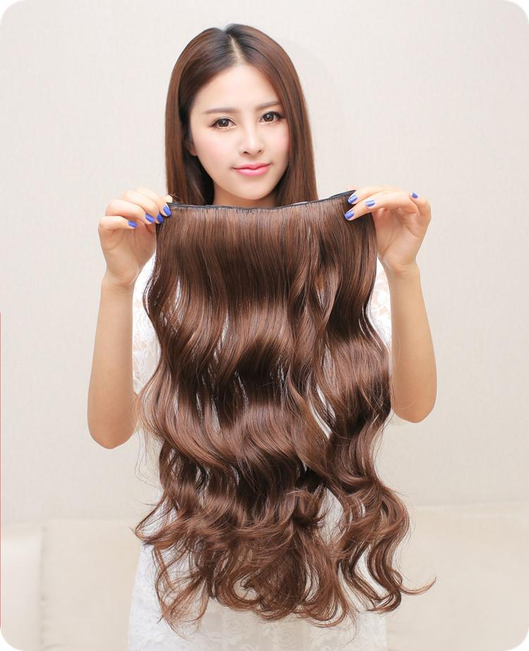 One piece clip in hair extensionsnatural wave curly brazilian one piece clip in hair extensionsnatural wave curly brazilian remy five clips on hair weaves26 top up brazilian virgin clip ins pmusecretfo Images