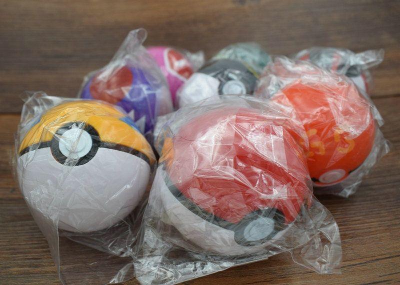 new elves ball Fairy Ball Super Ball pokBall ABS Action Anime Figures 7cm figure Kids Toys Gift Pets baby Elf dolls