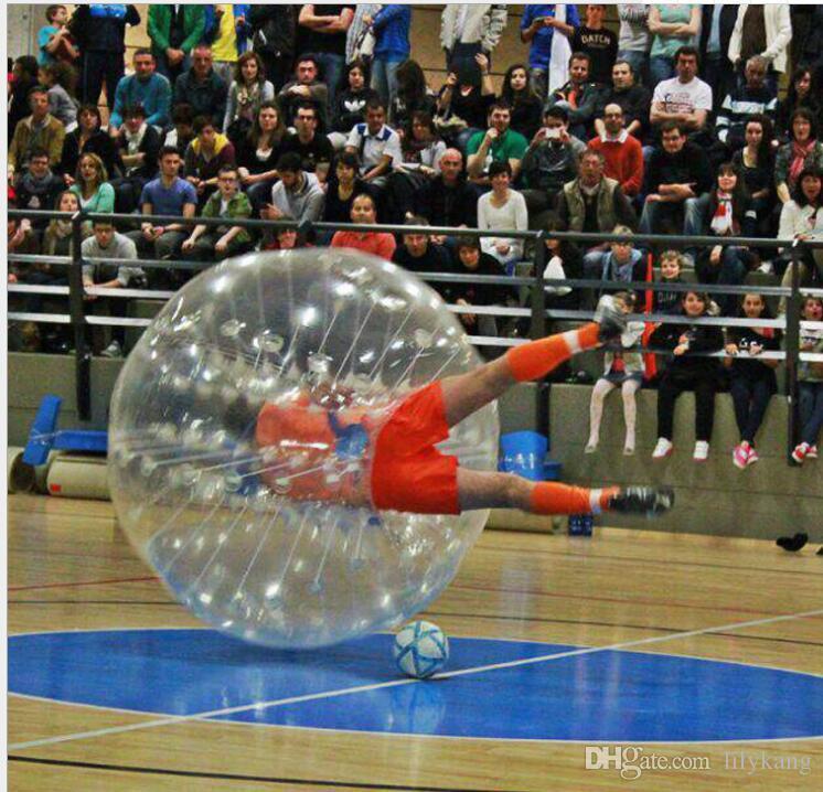 Palla gonfiabile di calcio di calcio della bolla di 1.2m i bambini Calcio di paraurti della palla del criceto umano della palla di Zorb del loopy i bambini