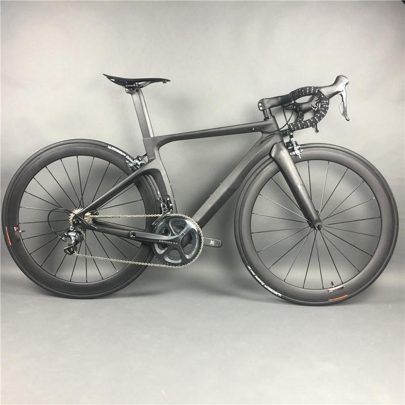 Carbon Fiber Bikes >> Complete Carbon Fiber Road Bike Racing Cycling T800 Carbono Fibre Frameset R36 Carbon Wheels Shimano 3500 4700 5800 R8000 9100