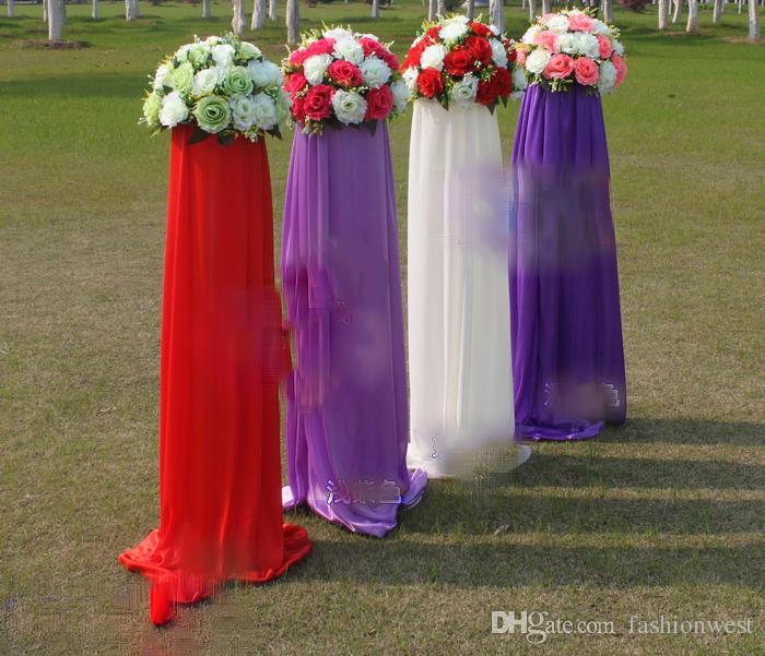 Braut Seidenblumen Hochzeits Blumenstrauss In Den Schatten Der Lavendel Blumen Strasse Hochzeits Blumen Fushia Rosa