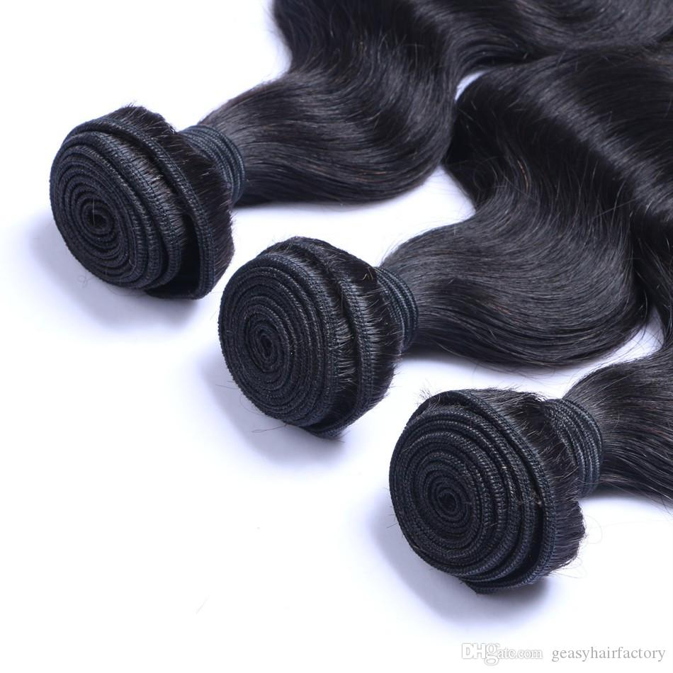 Günstige Lace Closure Mit Bundles Peruanische Körperwelle Menschenhaar 4x4 Lace Closure Mit Babyhaar LaurieJ Haar