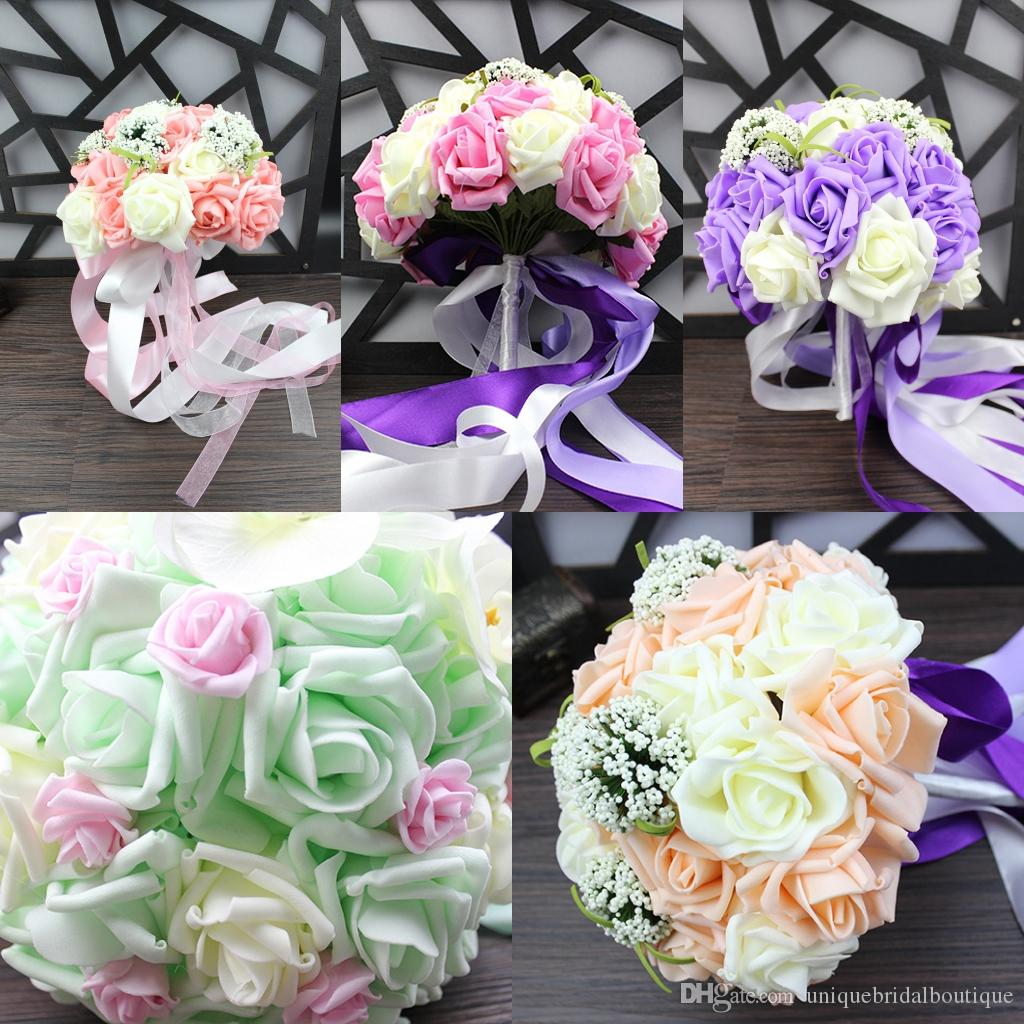 2017 bouquet cover champagne pink purple light green roses bridal 2017 bouquet cover champagne pink purple light green roses bridal bouquets for weddings and valentines day flowers for men flowers for mothers day from izmirmasajfo