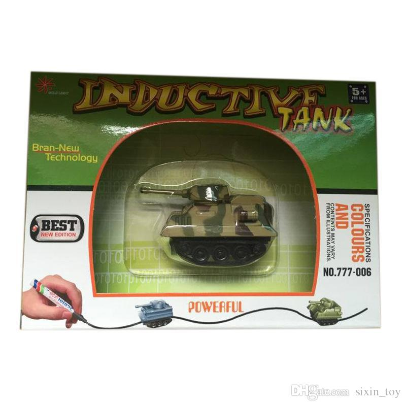 Hot Sale With Retail Box Mini Magic Pen Inductive Fangle Car Toy Childrens Car Truck Tank CarToy