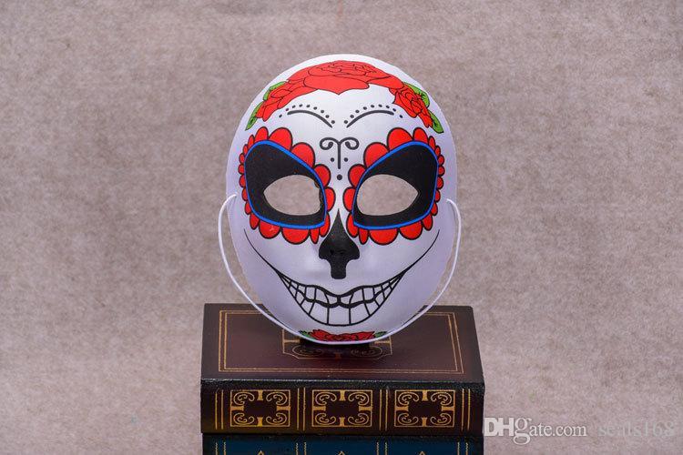 12 Tasarımlar Yeni Cadılar Bayramı Noel Renkli Masker Peking Opera Palyaço Cosplay Parti Fantezi Sahne Performansı Maske HH7-99