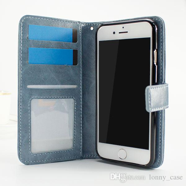 Wallet Case For LG X Charge Fiesta LTE X Power 2 Huawei Y5 lite 2017 Huawei Y3 2017 Card Slot Photo Frame