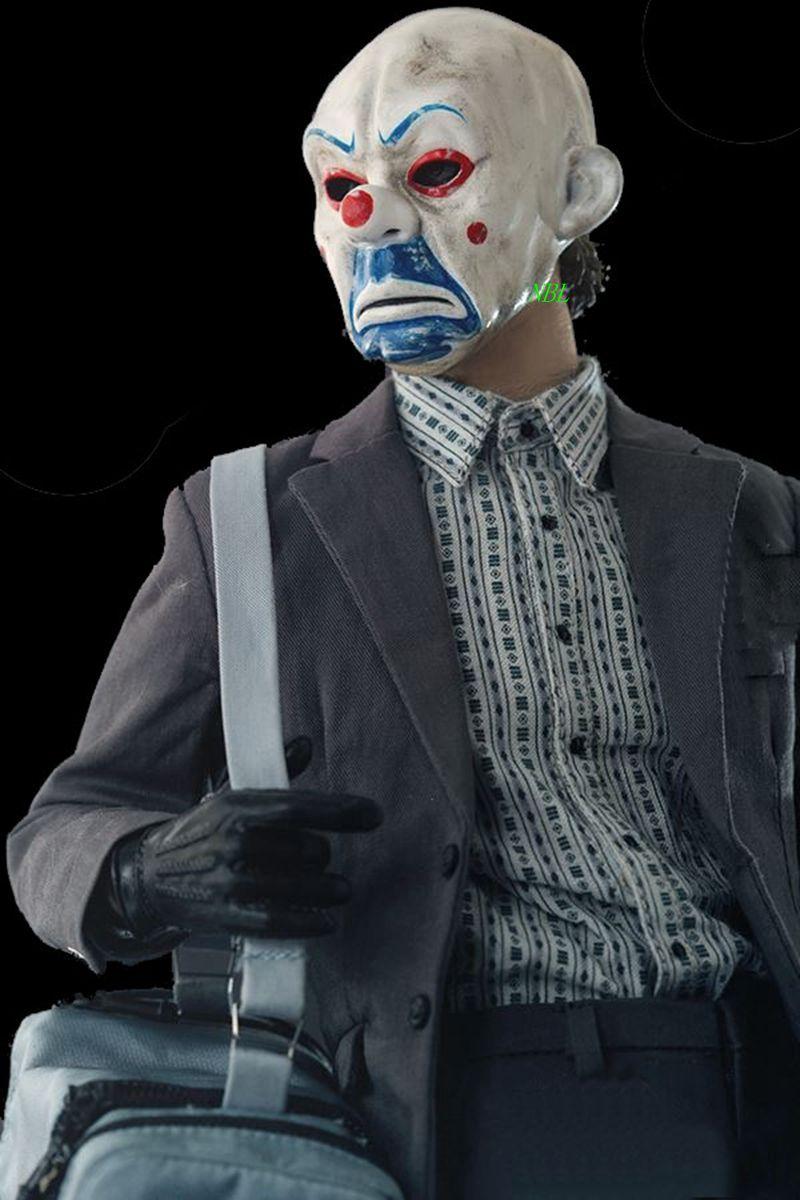 Brand New Movie Theme Resin Batman Joker Clown Mask Version 2.0 ...