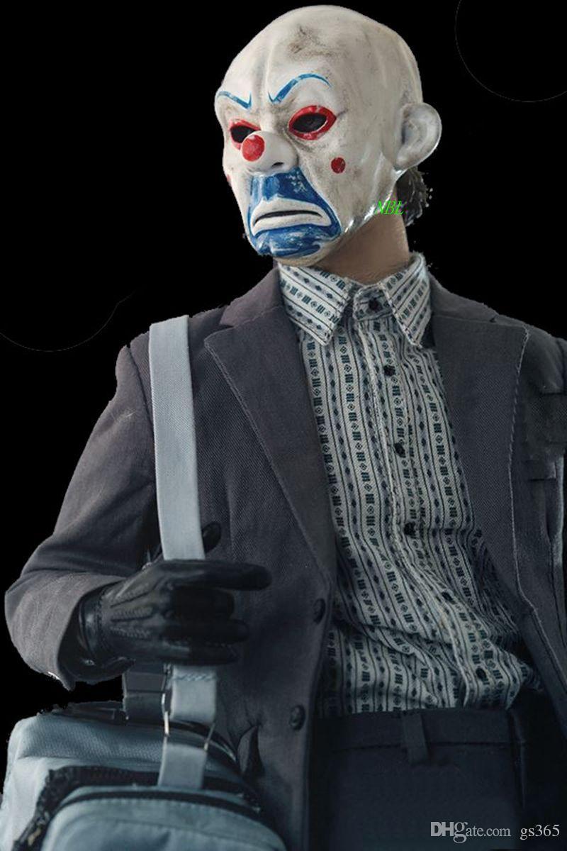 Acquista Nuovo Tema Del Film Resina Batman Joker Clown Mask Versione 2.0  Heath Ledger Robbers Maschere 100% Originale Di Alta Qualità Spedizione  Gratuita A ... fefa2aee2999