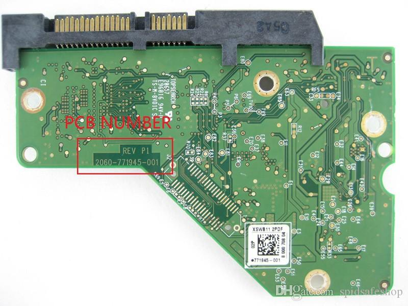Hdd Pcb Logic Board Circuit Board 2060 771945 001 Rev A/P1 For Wd ...