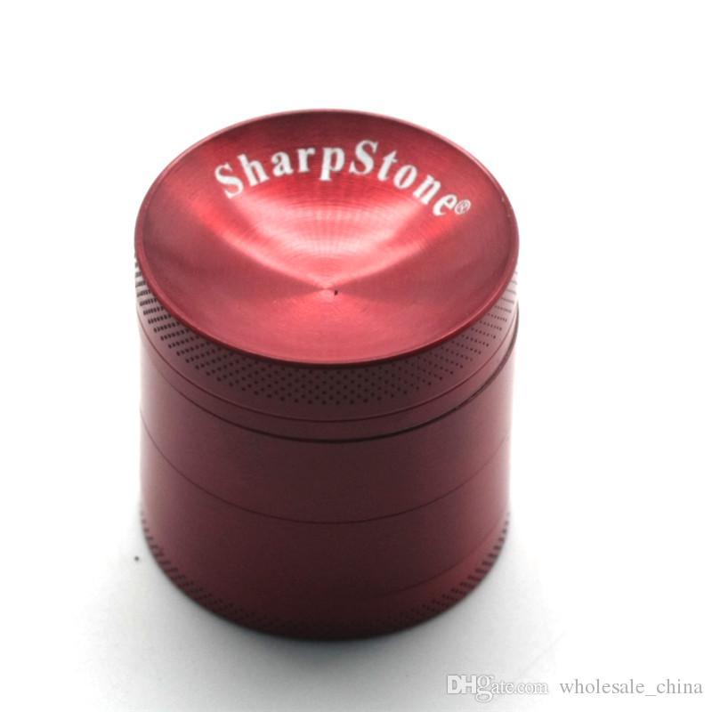 Sharpstone вогнутой дробилки трава мясорубку 40/50/55/63 мм 4 слоя металла шлифовальные цинковый сплав вогнутую поверхность травяные точильщика Sharpstone измельчители