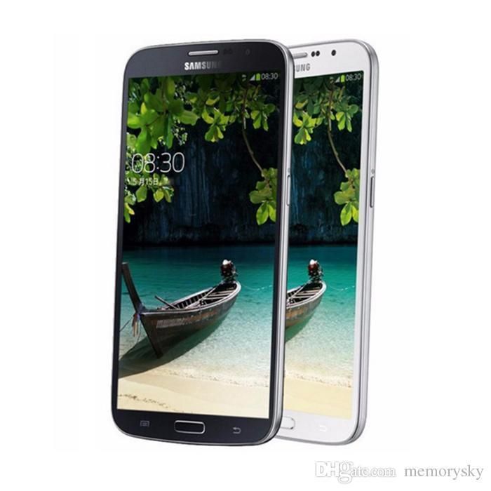 Оригинальный Samsung Galaxy GALAXY Mega 6.3 I9200 Сотовый телефон Dual Core 1.7 ГГц 16 ГБ 8MP 3200 мАч Батарея разблокирована Смартфон