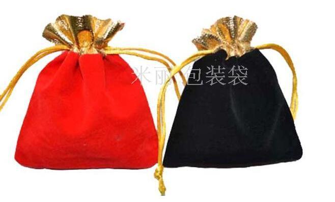 سريع مجاني شحن حقائب مجوهرات الجميلة أكياس هدية الفانيلا قلادة قلادة أساور خواتم حقائب 10x12mm