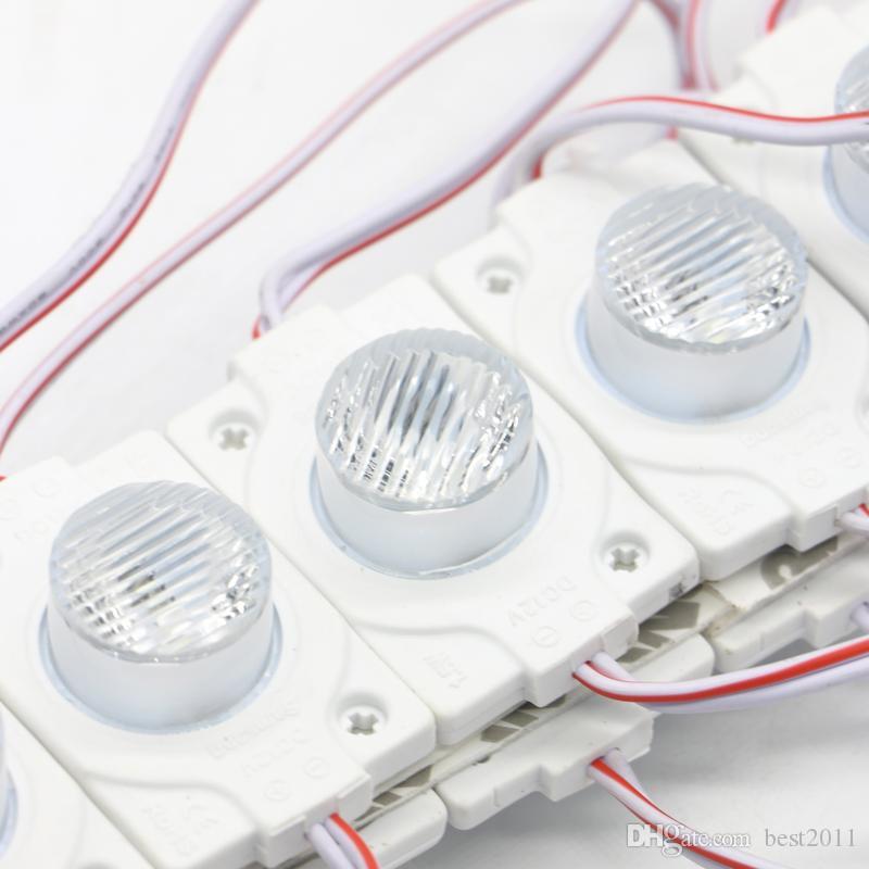 3030 SMD Modules d'éclairage latéral à LED Modules d'injection de module DC 12V DC Super Bright 1, boîte d'éclairage