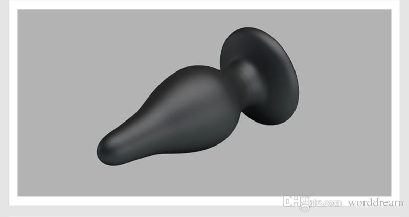 Big Silicone Anal Butt Plug Ânus Estimulador Em Jogos Para Adultos Eróticos Sex Toys Para Mulheres E Homens