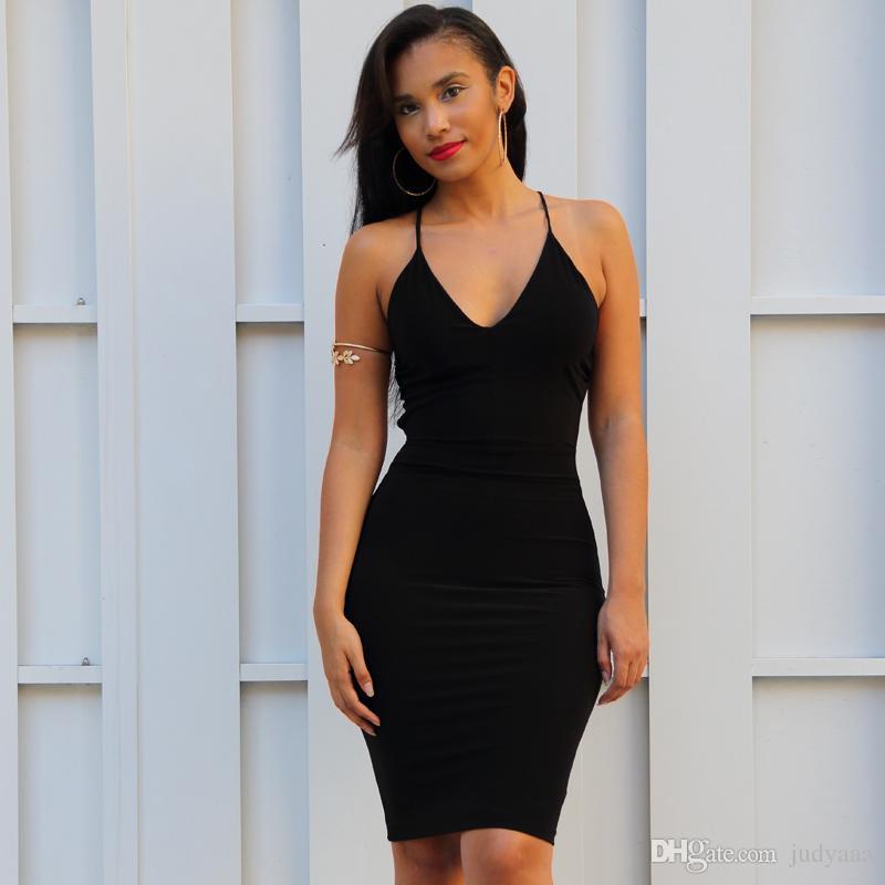 Hot 2016 sexy Evening Dress hip tight bandage skirt European and American fashion bare shoulder Vneck Evening dress